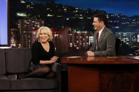 BETTE MIDLER, JIMMY KIMMEL