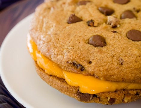 Chocolate Chip Cookie Grilled Cheese
