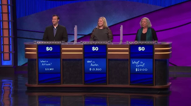Massive Jeopardy Fail When Everyone Loses [VIDEO]