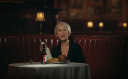 Helen Mirren Skewers Drunk Drivers In Budweiser Superbowl Commercial [VIDEO]